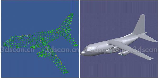 飞机配件三维扫描仪|机体三维测量系统