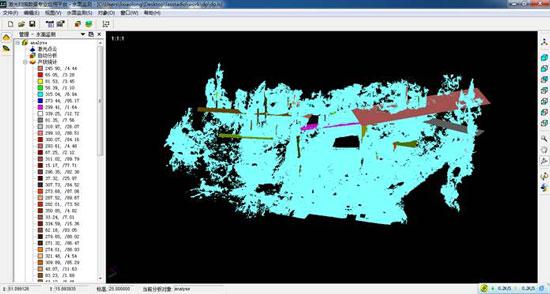 结构面半自动分析模块