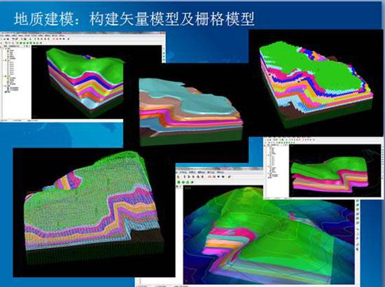 三维地质建模模块