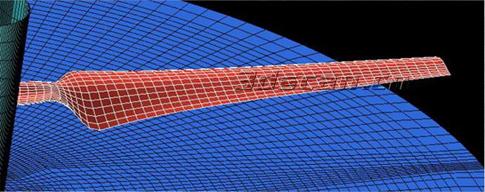 风力发电机叶片三维数据