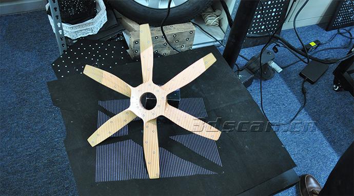 飞机螺旋桨扫描_螺旋桨模型三维扫描