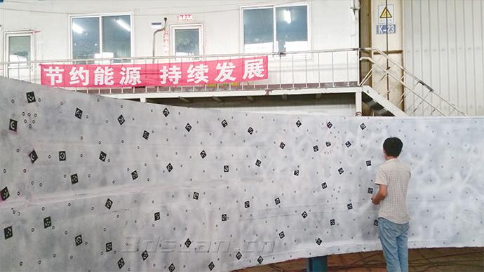 核锻造件三维扫描