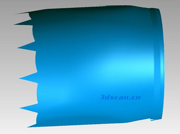 飞机引擎罩内壁STL数据图